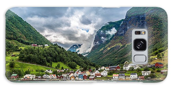 Scenery Galaxy Case - Scenic Summer Panorama Of The Old Town by S-f
