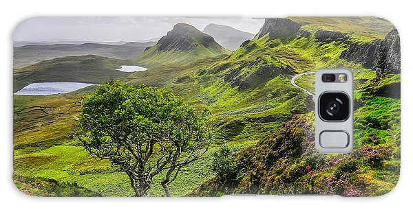 Scottish Galaxy Case - Scenic View Of Quiraing Mountains In by Martin M303