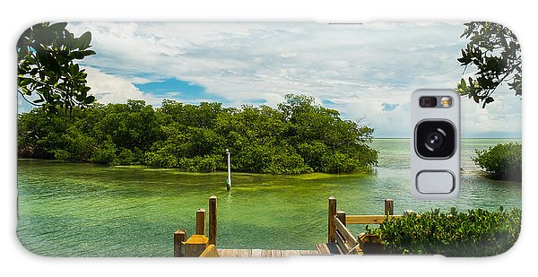 Mangrove Galaxy Case - Scenic View Of The Florida Keys With by Fotoluminate Llc