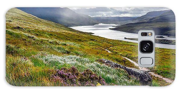 Scottish Galaxy Case - Scenic View Of The Lake And Mountains by Martin M303