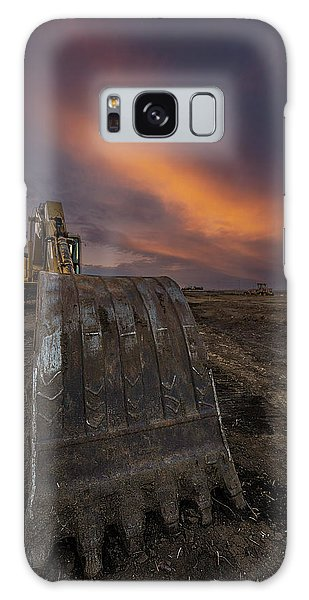 Excavator Galaxy Case - Scoop by Aaron J Groen