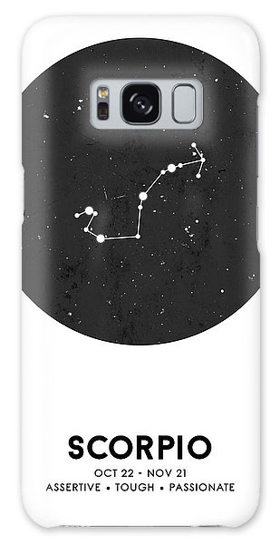 The Sky Galaxy Case - Scorpio Print - Zodiac Signs Print - Zodiac Poster - Scorpio Poster - Night Sky - Scorpio Traits by Studio Grafiikka