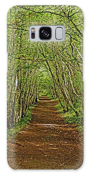 Scotland. Killiecrankie. Path Through The Trees. Galaxy Case
