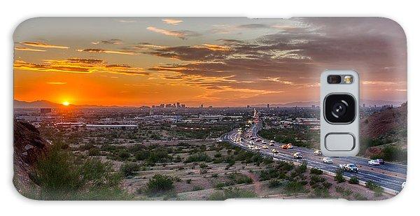 Scottsdale Sunset Galaxy Case