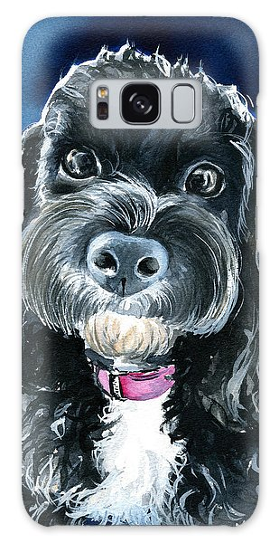 Scout - Cavoodle Dog Painting Galaxy Case