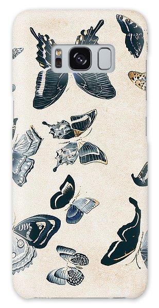 Faded Galaxy Case - Scrapbook Butterflies by Jorgo Photography - Wall Art Gallery