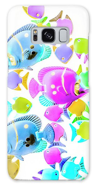 Ecosystem Galaxy Case - Sea Swimmers by Jorgo Photography - Wall Art Gallery