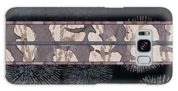 Sea Urchin Contrast Obi Print Galaxy Case