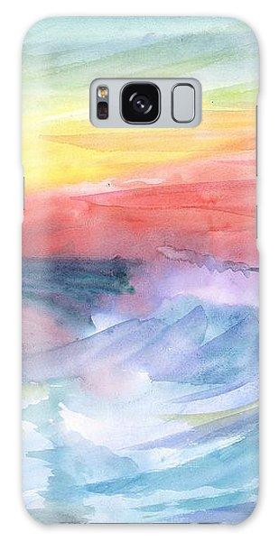 Sea Wave Galaxy Case