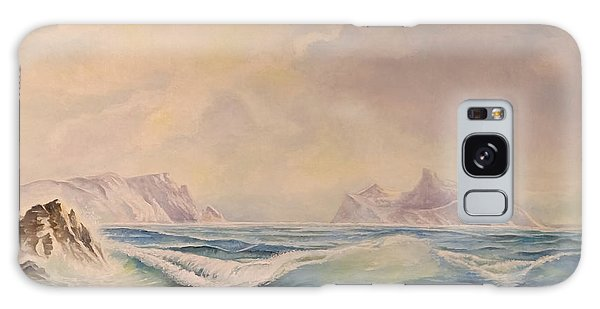 Sea Waves Galaxy Case