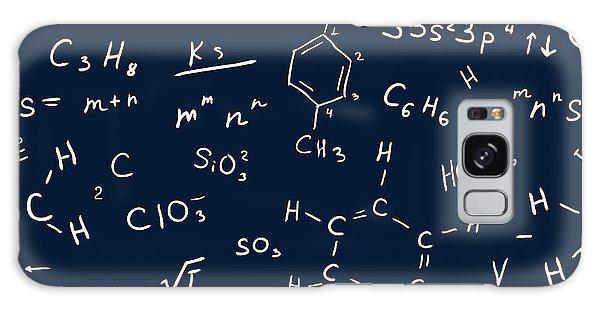 Board Galaxy Case - Seamless Chemistry Background. Vector by Katyau