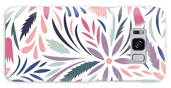 Mottled Galaxy Case - Seamless Floral Pattern. Vector Floral by Tets