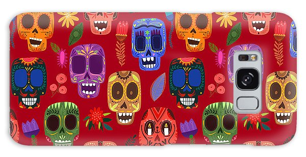 Death Galaxy Case - Seamless Pattern-mexican Day Of The by Ovocheva