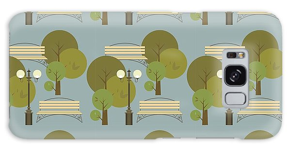 Ecology Galaxy Case - Seamless Pattern On The Theme Parks And by Marrishuanna
