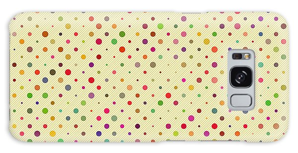 Picnic Table Galaxy Case - Seamless Polka Dot Pattern. Vector by Alhovik