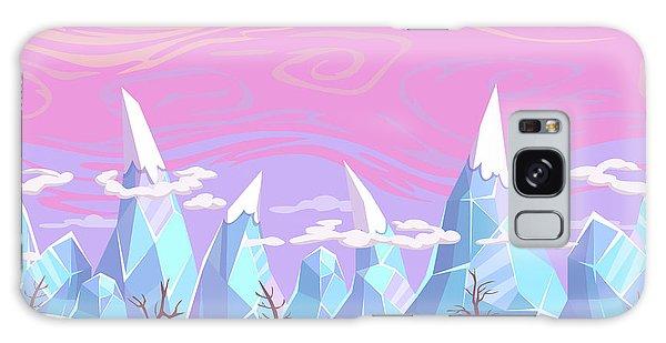 Horizontal Galaxy Case - Seamless Vector Cartoon Fantasy by Lilu330