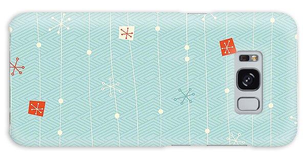 Wrap Galaxy Case - Seamless Vintage Winter Pattern by Orangeberry
