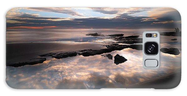 Seaside Galaxy Case - Seaside Reef Sunset by Larry Marshall