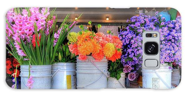 Seattle Flower Market Galaxy Case
