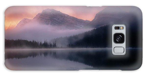 September Sunrise Banff Galaxy Case