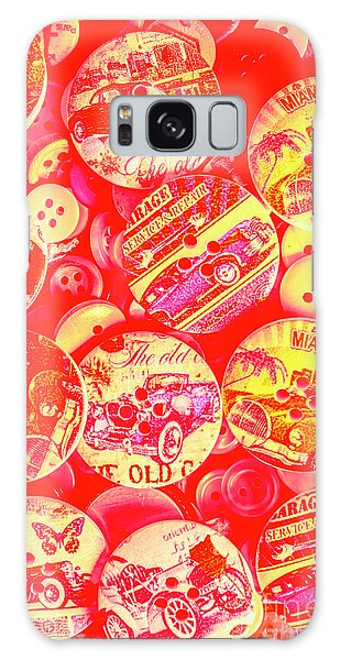 Old Car Galaxy Case - Service And Repair by Jorgo Photography - Wall Art Gallery