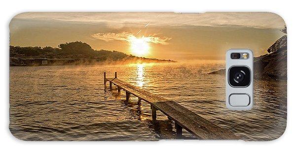Sespanyol Beach In Ibiza At Sunrise, Balearic Islands Galaxy Case