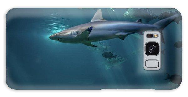 Shark Attack Galaxy Case