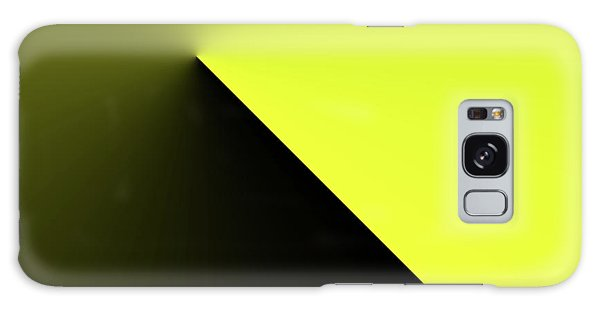 Galaxy Case featuring the digital art Shades Of Yellow In Rotational Gradient by Bill Swartwout Fine Art Photography