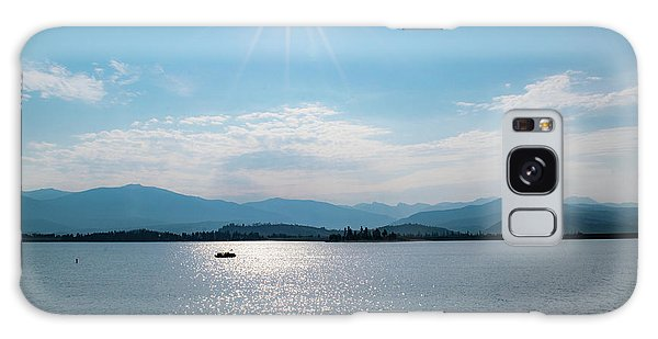 Shadow Mountain Lake Galaxy Case