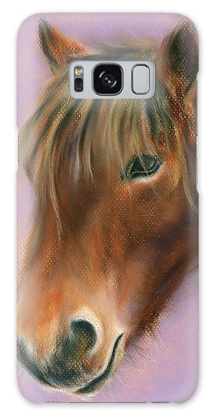 Shaggy Brown Pony Galaxy Case