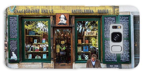 Shakespeare And Company Bookstore Galaxy Case