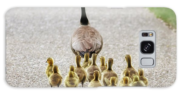 Canada Goose Galaxy Case - Shallow Dof On Babies A Cute Family Of by Annette Shaff