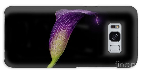 Conyers Galaxy Case - Shape Of A Lily by Cory Brewington