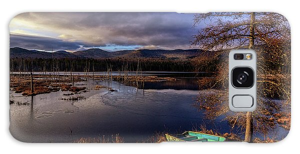 Shaw Pond Sunrise - Landscape Galaxy Case