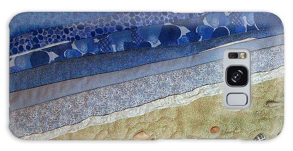 She Sews Seashells On The Seashore Galaxy Case