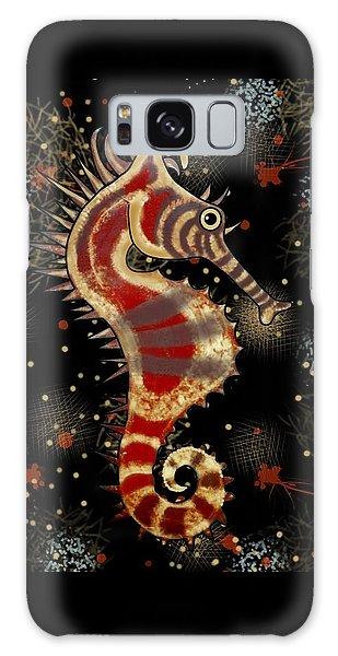 Galaxy Case - Shehorse Digital Addition2 by Joan Stratton
