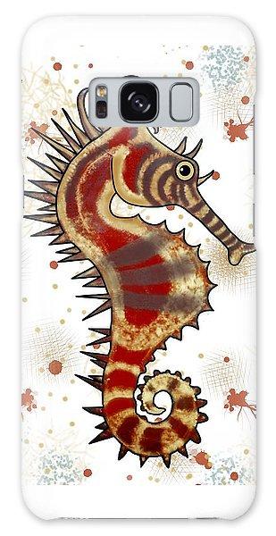 Galaxy Case - Shehorse Digital Addition4 by Joan Stratton