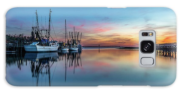 Shem Creek Blue Hour, Mt. Pleasant Sc Galaxy Case