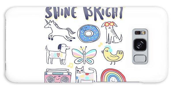 Shine Bright - Baby Room Nursery Art Poster Print Galaxy Case