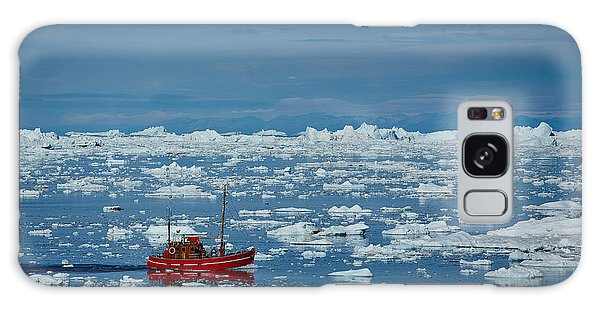 Shipping Galaxy Case - Ship In Ilulissat Icefjord, Unesco by Romantravel