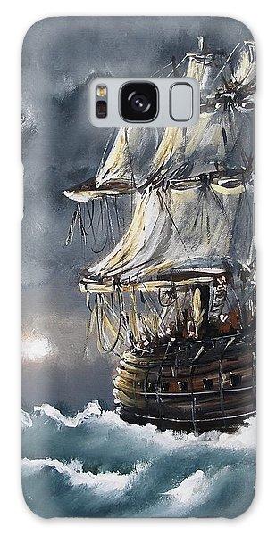 Ship Voyage Galaxy Case