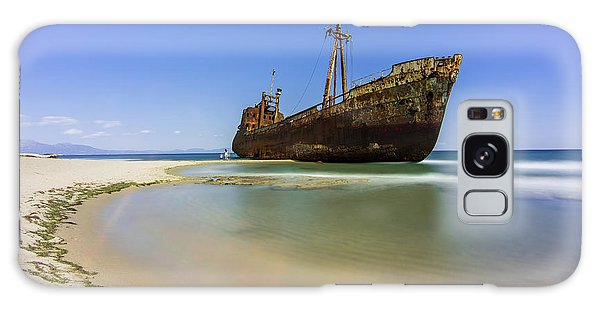 Shipwreck Dimitros Near Gythio, Greece Galaxy Case