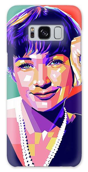 Shirley Maclaine Pop Art Galaxy Case