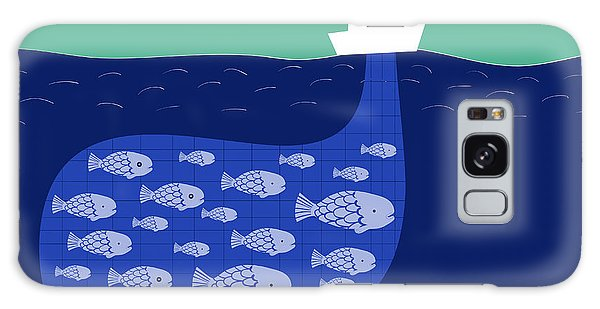 Success Galaxy Case - Shoal Of Fish In The Boat Fishnet by Complot