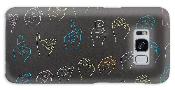 Language Galaxy Case - Sign Alphabet by Michal Durinik