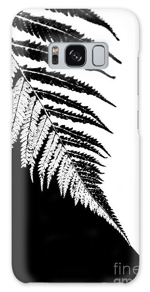 New Leaf Galaxy Case - Silver Fern by Evelina Kremsdorf