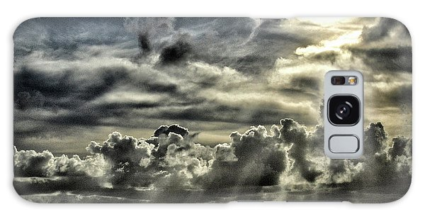 Galaxy Case featuring the photograph Silver Sun Over St. Lucia by Bill Swartwout Fine Art Photography