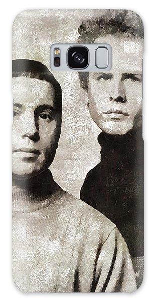Simon And Garfunkel Galaxy Case - Simon And Garfunkel, Music Legends by Mary Bassett