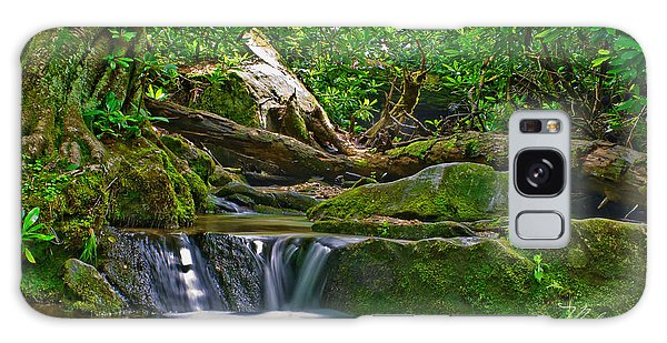 Sims Creek Waterfall Galaxy Case