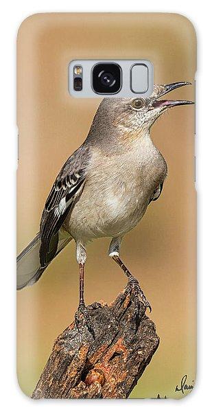 Singing Mockingbird Galaxy Case